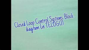 Closed Loop Control Systems Block Diagram