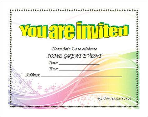 microsoft invitation templates word  premium