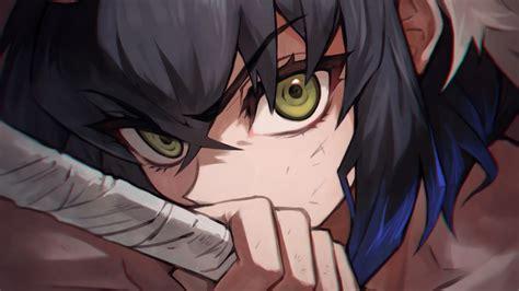kimetsu  yaiba anime inosuke hashibira