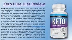 Keto Pure Diet Reviews  Shark Tank  Weight Loss Diet Pills Canada