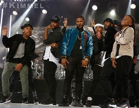 Usher Performs 'no Limit' On Jimmy Kimmel Live Hiphopnmore