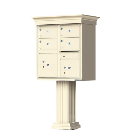 Usps Decorative Mailers by Classic Decorative 4 Tenant Door Cluster Box Unit