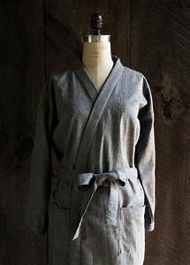 Diy womens flannel robe free sewing pattern and for Diy robe