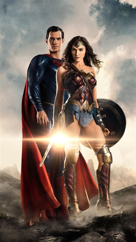 Superman Wonder Woman In Justice League 4k Wallpapers Hd