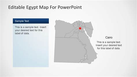 Egypt Templates Powerpoint by Editable Egypt Map Powerpoint Template Slidemodel
