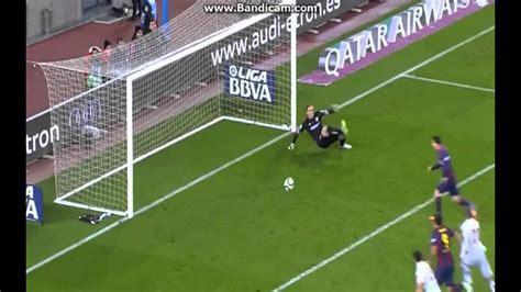 Lionel Messi Goal Barcelona 1-0 Atletico Madrid 2015 copa ...
