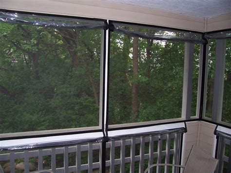 Custom Enclosures For Your Deck Porch Or Patio Roll Down Plastic Curtains Clear Up Protection Bamboo Curtains Target How To Tie A Curtain White Cotton Ruffle Shower Geometric Panel Matching Bed Sets And Modern Home Apt 9 Sound Absorbing