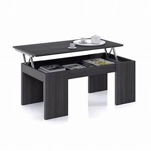 Table Basse Blanche Et Grise : table basse relevable cdiscount ~ Teatrodelosmanantiales.com Idées de Décoration