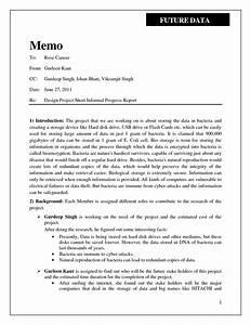 Short business report