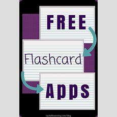Free Flashcard Apps  Rachel K Tutoring Blog
