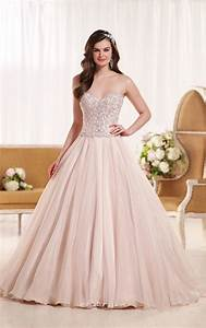 beaded bodice tulle strapless sweetheart ball gown wedding With beaded bodice wedding dress
