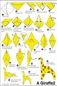 Origami Giraffe 2