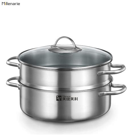 large steamer pot millenarie cookware warm series kitchen cooking tools 3669