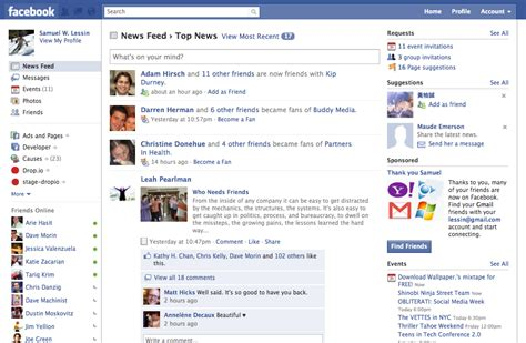 A Rundown On Facebook's New Redesign