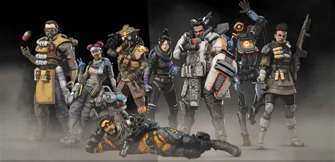 Every Legend's Skin In Apex Legends, All Character Skins