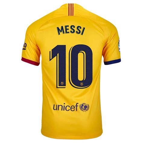 201920 Kids Nike Lionel Messi Barcelona Away Jersey