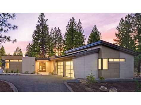 one modern house plans home plan homepw77114 2331 square 2 bedroom 2
