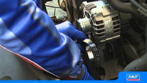 skf wechsel des generatorfreilaufes bei ausgebauter