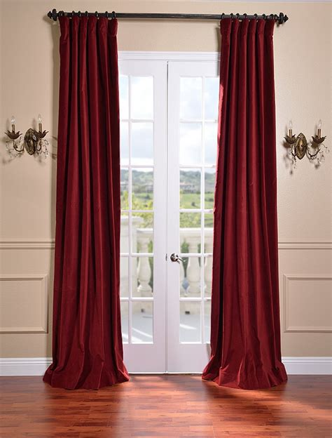 savings on vintage cotton velvet curtains and drapes