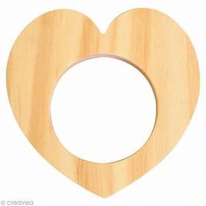 Rond En Bois : rond de serviette bois peindre coeur ustensile cuisine creavea ~ Teatrodelosmanantiales.com Idées de Décoration