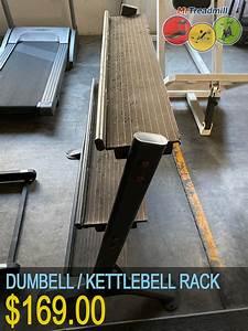Dumbbell  Kettle Bell Rack