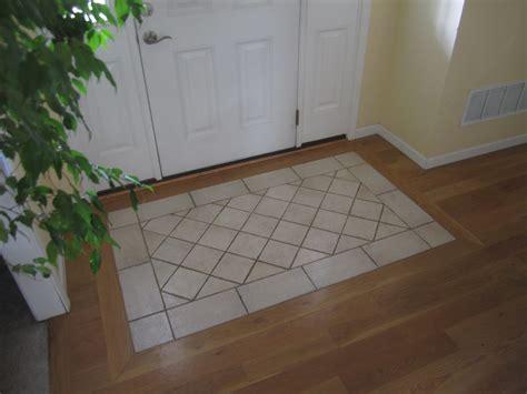 tile rug entry south house designs