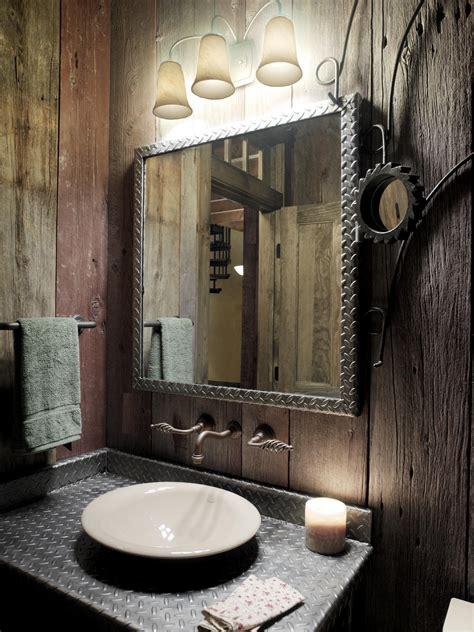 bathroom mirror ideas for single sink splendid rustic bathrooms ideas for small space designs