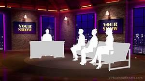 Virtual Talk Show Set on Vimeo
