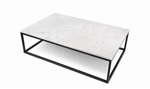 Table Marbre Noir : table basse tendance de salon haute qualite collection prairie temahome ~ Teatrodelosmanantiales.com Idées de Décoration
