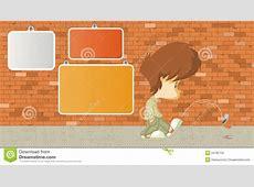 Sad Boy Kicking A Can Royalty Free Stock Images Image