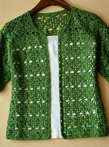 Crochet  Green Crochet Cardigan  Diagrama  U2022  U2022 Teresa