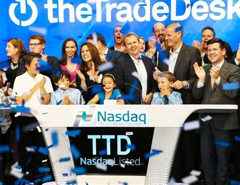 the trade desk ipo the trade desk the gem of advertisement offers growth and