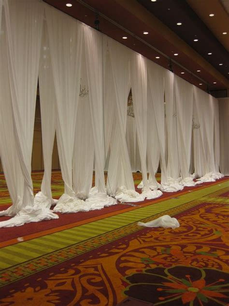best fabric ceiling swags center truss draped www