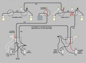 Wiring A Light Switch To Multiple Lights And Plug Uc5d0  Ub300 Ud55c  Uc774 Ubbf8 Uc9c0