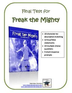 1000+ Images About Freak The Mighty On Pinterest Final