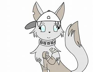 My Animal Jam Artic Wolf Drawing Character by ...
