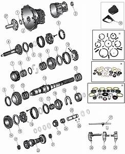 Diagrams For Jeep    Transmission Parts    Transmission New Venture Nv3550