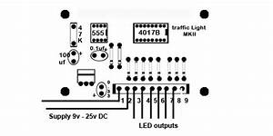 2    4 Way Traffic Light Control Circuit For Model Railway