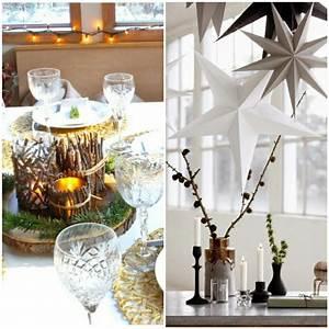 Tischdeko Für Weihnachten Ideen : weihnachtliche tischdeko im skandinavischen stil ~ Markanthonyermac.com Haus und Dekorationen