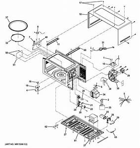 Assembly View For Oven Cavity Parts