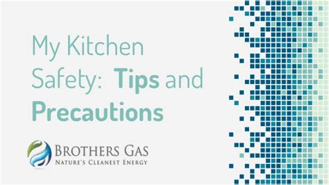 kitchen safety tips  precautions