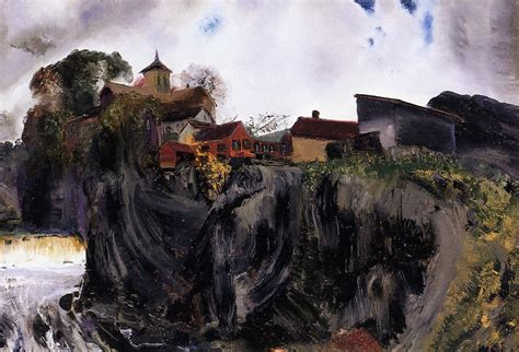 crucifixion painting george wesley bellows oil paintings