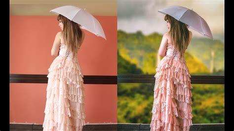 photo manipulation  adding background photoshop cc