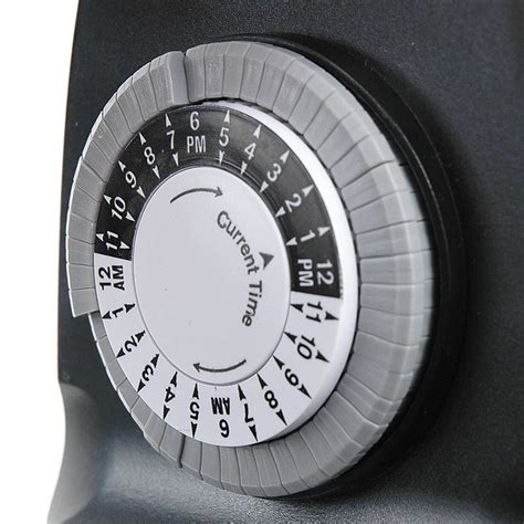 mechanical outdoor timer 15 s novelty lights inc