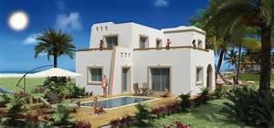 construire en tunisie avec les plans de maisons jenna avec With modele de maison a construire en tunisie