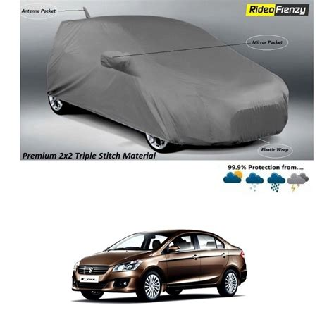 Front bumber with ciaz badgingback. Buy Premium Fabric Maruti Ciaz Body Cover with Mirror & Antenna Pockets at low prices-RideoFrenzy