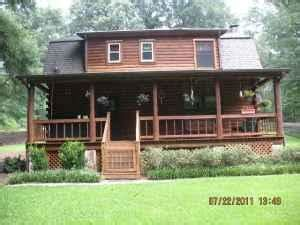 br ft  story log cabin perry ga  sale