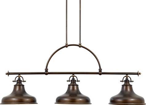 island lighting fixtures quoizel er353pn emery transitional kitchen island