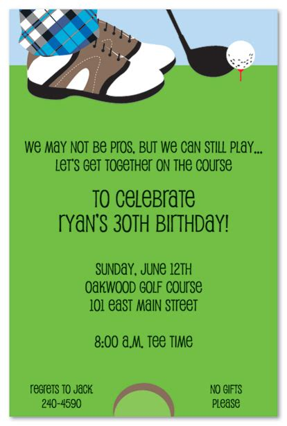 images  golf party template linacacom