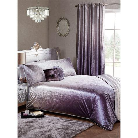 full ombre velvet duvet set king bedding    crushed